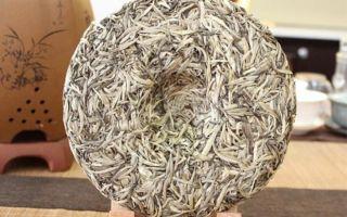 Белый пуэр – прессованные чайные почки