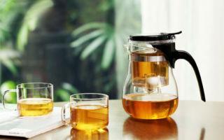 Гунфу (типот) — заварочный чайник с кнопкой
