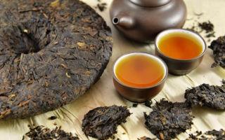 Китайский чай Шу пуэр (черный пуэр)
