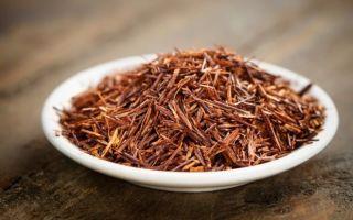 Чай Ройбуш — африканский напиток из красного куста