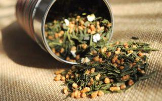Зеленый чай Генмайча (Гэммайтя) с рисом