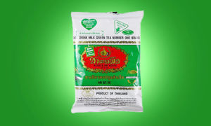 Изумрудный тайский зеленый молочный чай