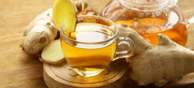 Польза и вред чая с имбирем