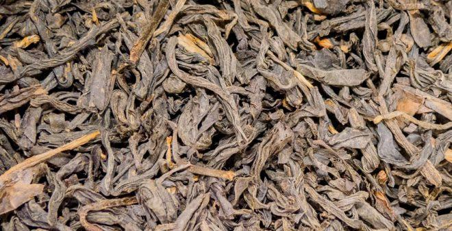 Сушеные чайные листья