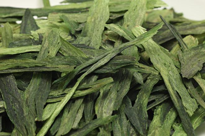 Зеленые чайные листья