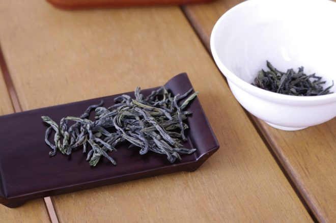 чай на подставке