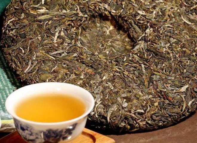 Чайный блин и пиала
