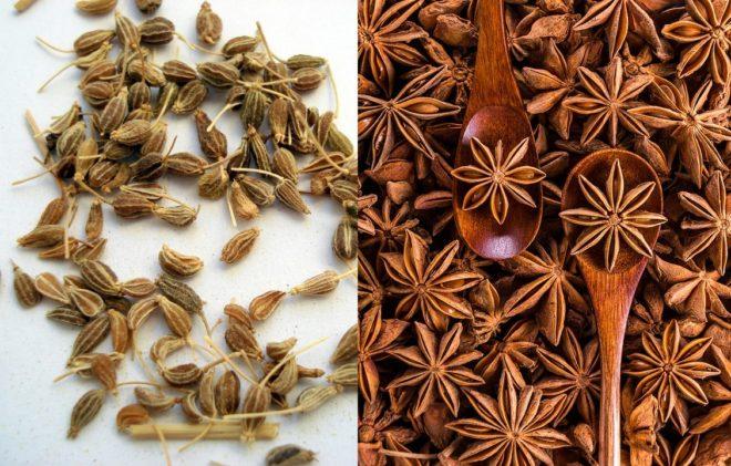 сравнение семян